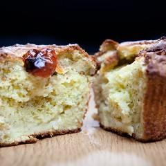 muffins al pesto