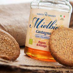 Biscotti al grano saraceno con Miele di Castagno