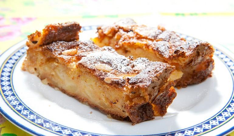 torta di mele della clau