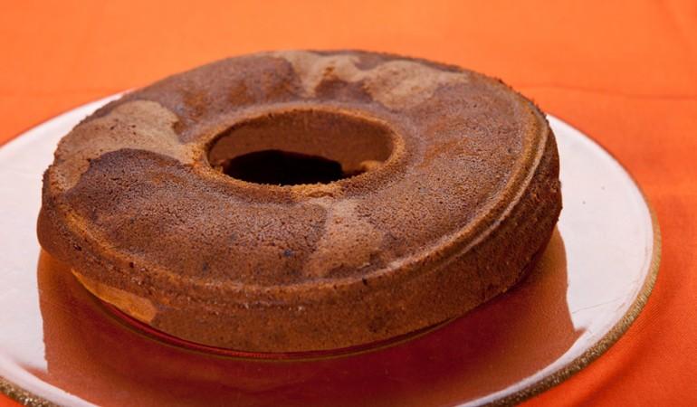 torta marmorizzata ai cachi