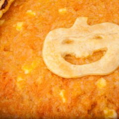 Torta-salata-di-Halloween,-di-zucca-ovviamente