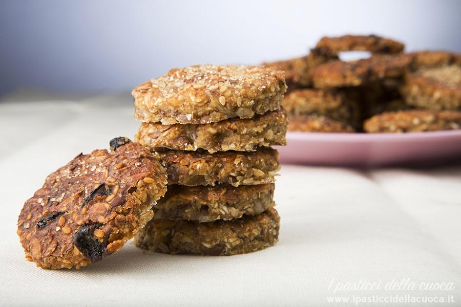 Favorito I pasticci della cuoca | Biscotti croccanti ai cereali - I  GU42