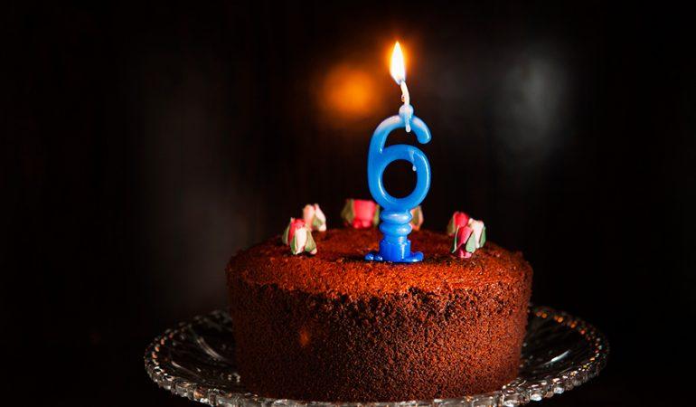 torta di compleanno 6 anni