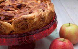 Torta di mele e cannella