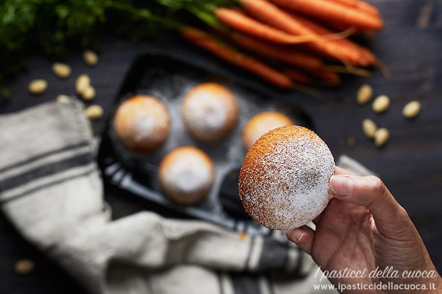 Tortine alle carote senza glutine
