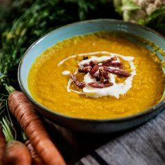 Vellutata di carote e cavolfiore