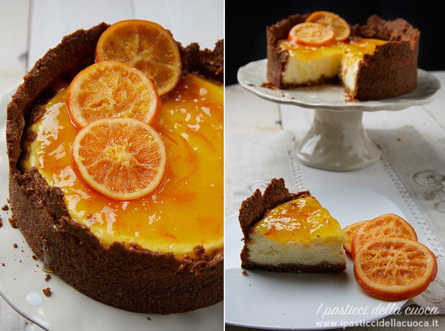 Cheesecake-con-marmellata-di-arance_fetta-su-piatto