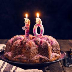Torta di compleanno 10 anni
